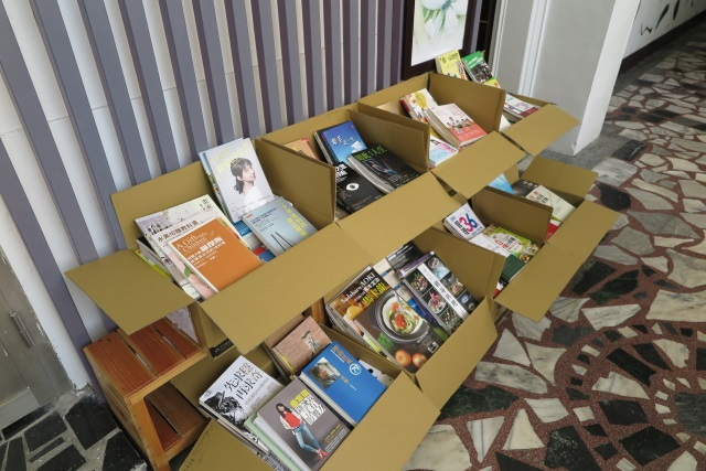 The books were donated from eslite Foundation for Culture and Arts